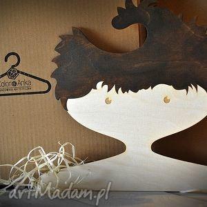 Prezent drewniany wieszak dla dzieci - CHŁOPIEC , wyjątkowy, prezent, dziecięcy