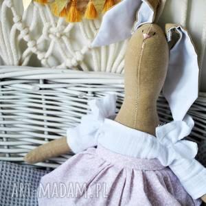 handmade maskotki pani królik maskotka z imieniem