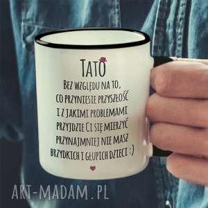 Prezent Tato - śmieszny kubek z nadrukiem, tato, kubek, dzien, ojca