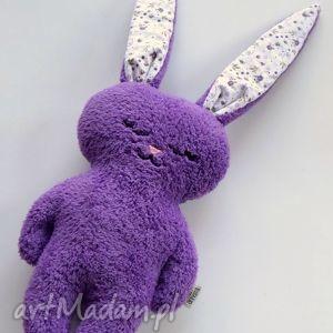 Luluś fioletowy (kwiaty), króliczek, zajączek, królik