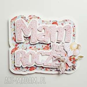 Kartka na roczek - rok kartki iride handmade kartka, roczek