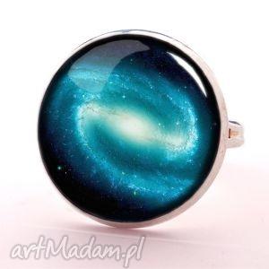 handmade pierścionki galaktyka - pierścionek regulowany