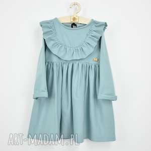 sukienka z falbana i aksamitka, falbanki, zfalbanka, doprzedszkola, aksamitka
