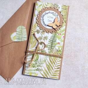 kartka ślubna :: leśne życzenia slim, ślub