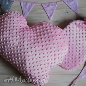 minky poduszka termofor - różowe, minky, poduszka, różowy, chmurka