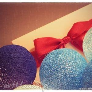 blue sky cotton balls lights lampki, cotton, prezent, girlandy, ślub, salon