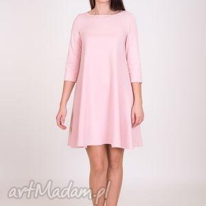 handmade sukienki 7 - sukienka różowa