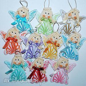 hand-made dekoracje aniołki - odfruwamy