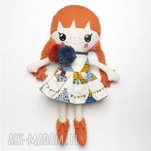 Bawełniana Lalka LALALILA - Poofy Cat, lalka, lala, laleczka, materiałowa, szmaciana