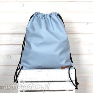 Worek plecak gołębi, plecak, worek, ekologiczny, hipsterski, szary