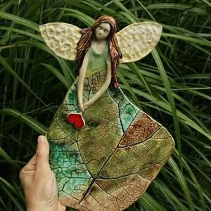 Leśny anioł dla dziecka enio art anioł, anioł-na chrzest
