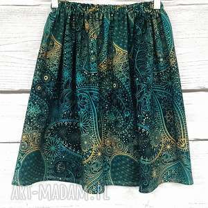oryginalny prezent, spódnica paisley, wzorzysty