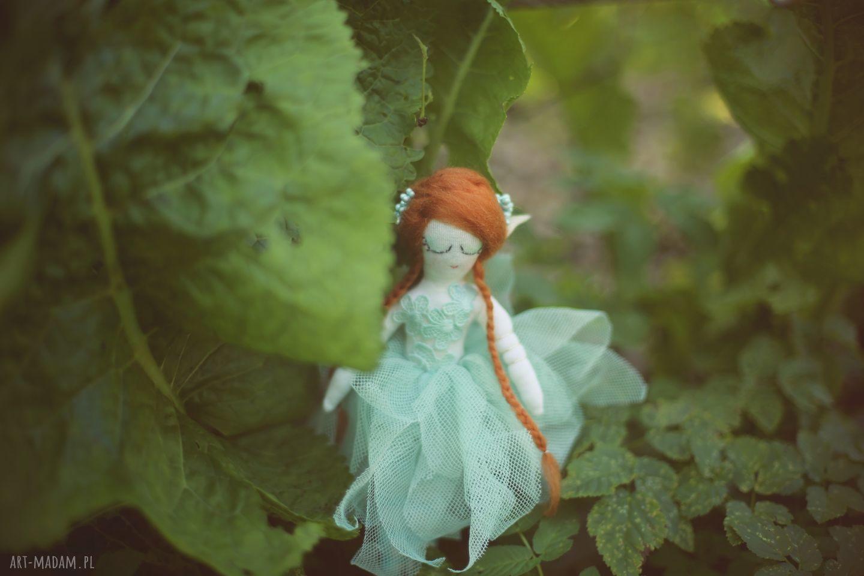 lalka zabawki zielone magiczna bajka - szmaragdowy elf