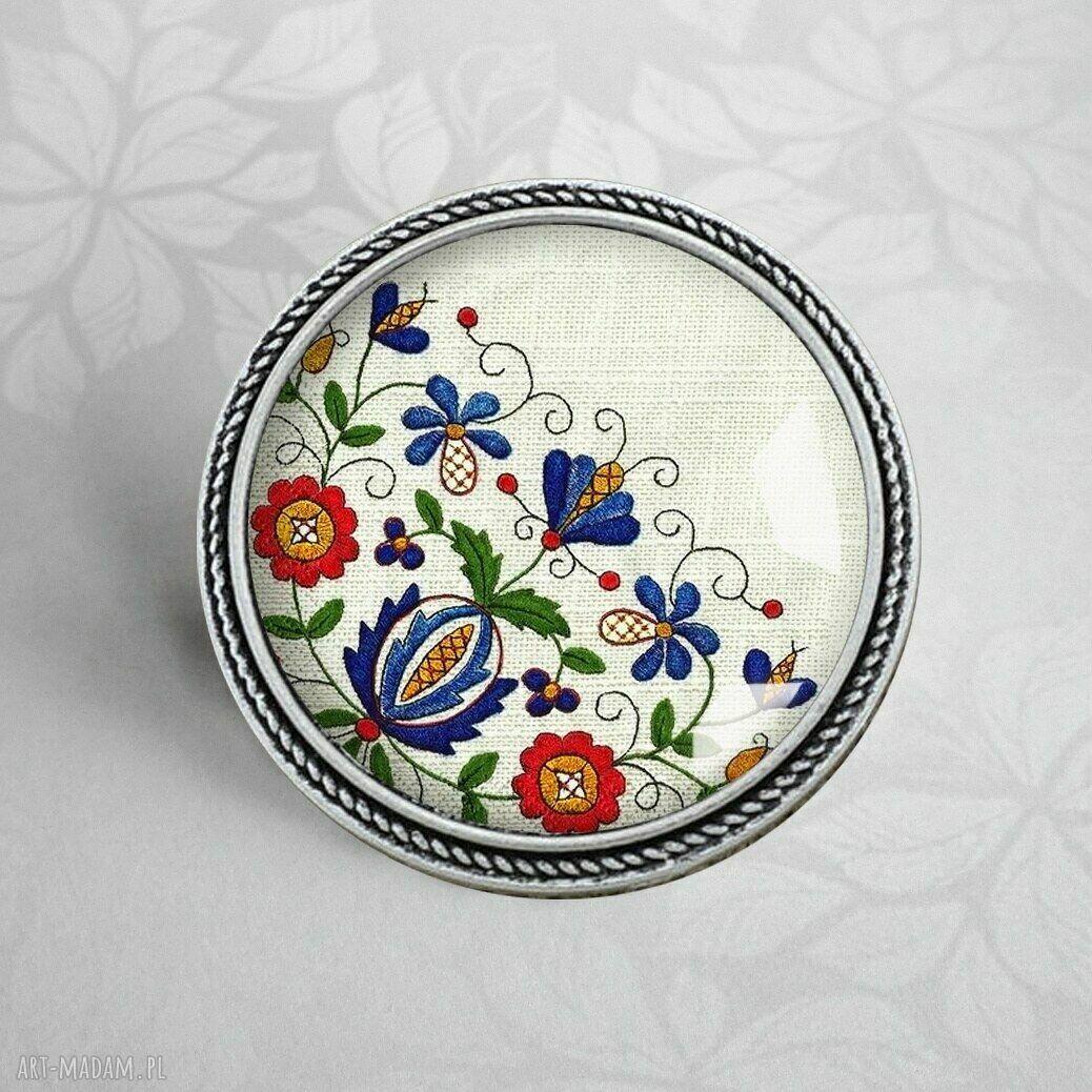 ręcznie wykonane broszki broszka :: casube