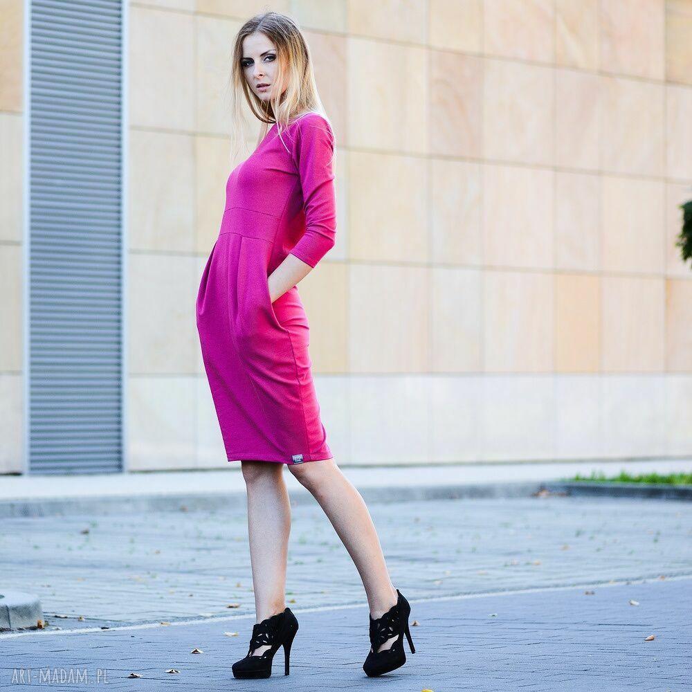modne sukienki sukienka gentle dresowa