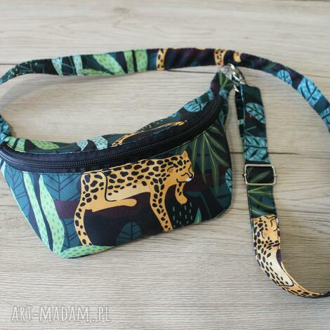 torebki niezwykle nerka z gepardem, gepard, spacer, rower, wakacje, prezent