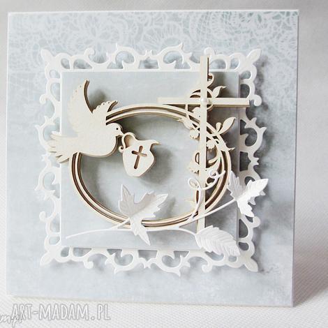 pamiątka chrztu - w pudełku - pamiątka, chrzest, zaproszenie