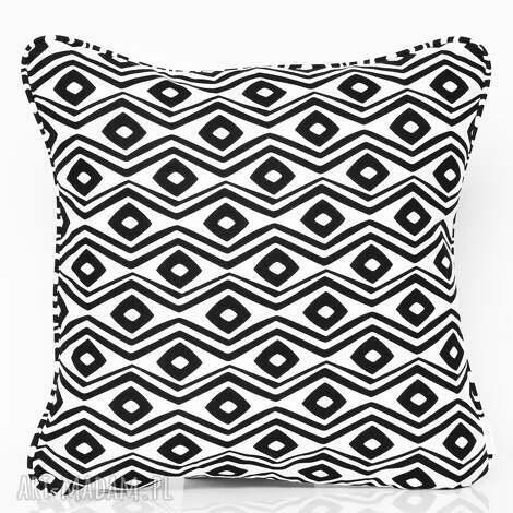 poduszka prism - black 40x40cm, poduszka-ozdobna, poduszka-dekoracyjna