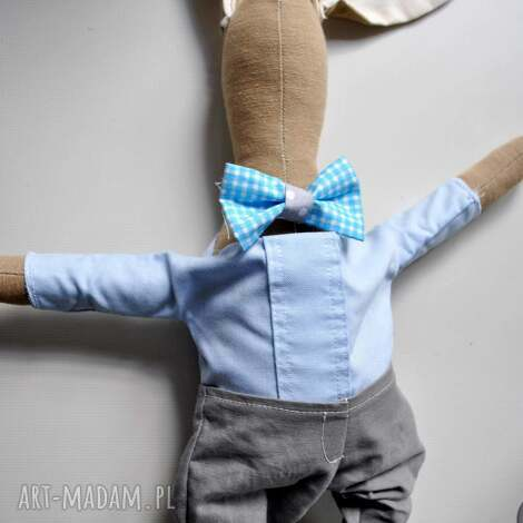 pan królik, prezent narodziny dziecka, chłopca, baby shower chrzest