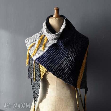 bawełniana chusta, nadrutach, prezent, szal