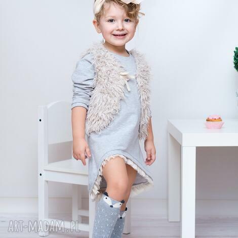 sukienka dla dziewczynki 104-116 - sukienka, dziewczynka, bawełna, okazja, prezent