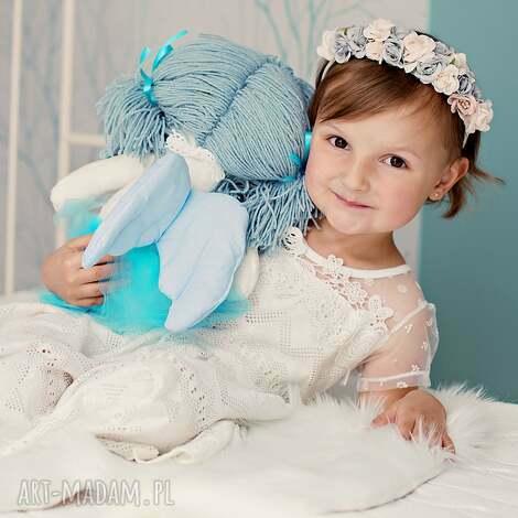 lalka aniołek ze skrzydłami, szmacianka, pomysł na prezent