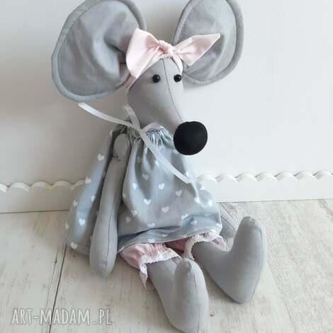 maskotki mała myszka alicja 50 cm, myszka, przytulanka, pokój dziecka, zabawka