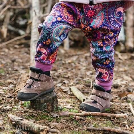 spodenki softshell orient fiolet 116/122, spodnie softshell, wodoodporne