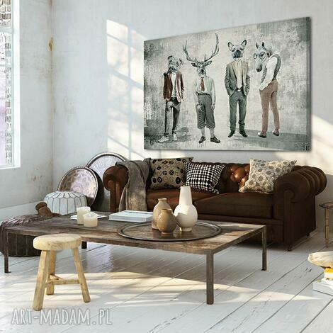 obraz na płótnie - chłopaki 02137 120x80 cm, chłopaki, rodzinka, kumple