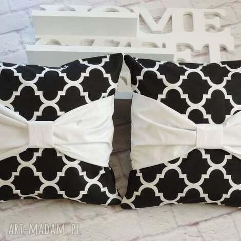 marima decor komplet poduszki dekoracyjne 2 szt maroko kokarda, poduszki