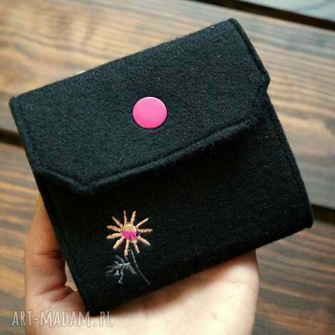 świąteczne prezenty, portfele filcowe etui na karty, etui, portfel, prezent