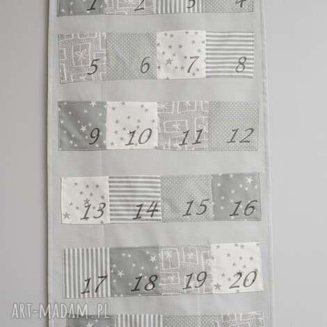 duŻy kalendarz adwentowy, święta, kalendarz