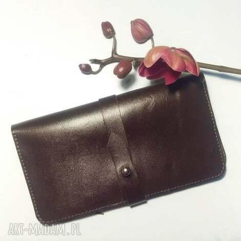 portfele portmonetka na karty i dokumenty z paskiem, pormonetka, portfel, skóra