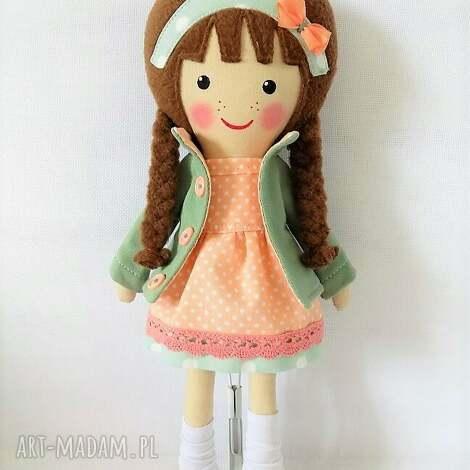 malowana lala klara - lalka, zabawka, przyulanka, prezent, niespodzianka, dziecko
