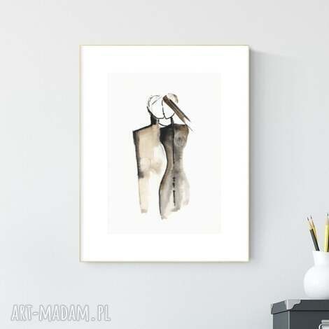 grafika a4 wykonana ręcznie, abstrakcja, obraz do salonu, 2665180