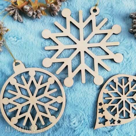 ozdoby świąteczne zestaw ozdób świątecznych, bombki, śnieżynki