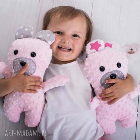 przytulanka dziecięca miś - miś zabawka, hand made, prezent
