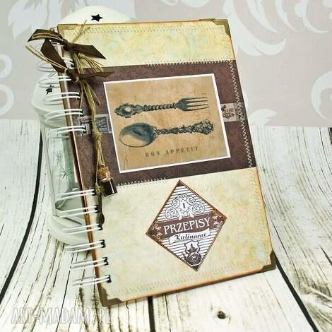 przepiśnik- kuchnia babci, przepiśnik, kulinarny, notatnik, książka, kucharska