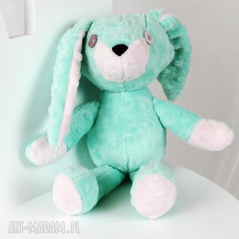 królliczka ami, królik, króliczek, maskotka, przytulanka, pluszowy, minky