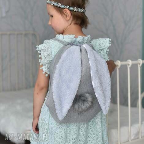 plecak worek króliczek, worek, do szkoły, przedszkola, plecaczek