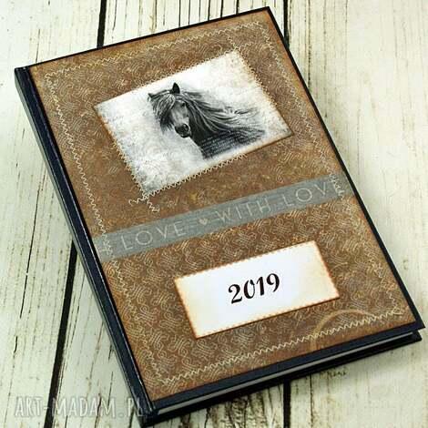 scrapbooking notesy kalendarz książkowy 2019 - niepokorny, klendarz