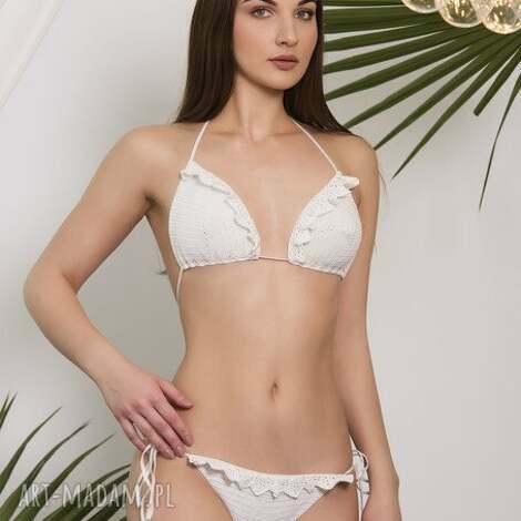bielizna kostium kąpielowy atena szydełkowy, strój, bikini, kostium, plażowy