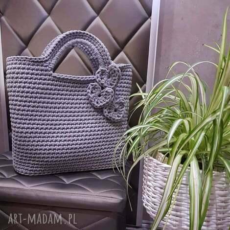 torba do ręki ze sznurka bawełnianego 40cmx30cm, torebka ręki