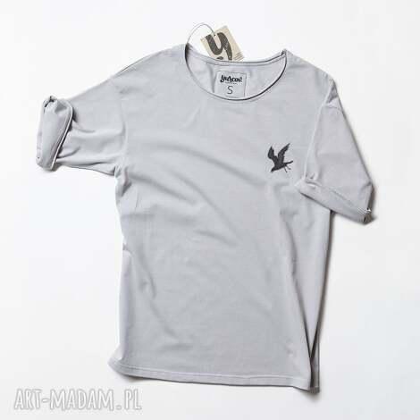 mini kruk tshirt unisex, koszulka, kruk, ptak, raven, crow, oversize