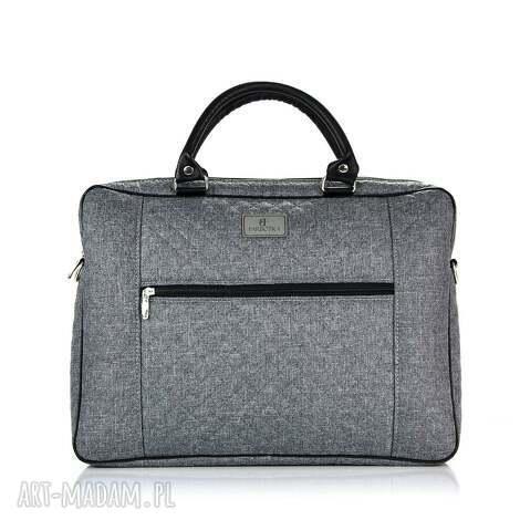 unikalny prezent, torba na laptopa 679, laptop, duża, torba, pakowna, wygodna
