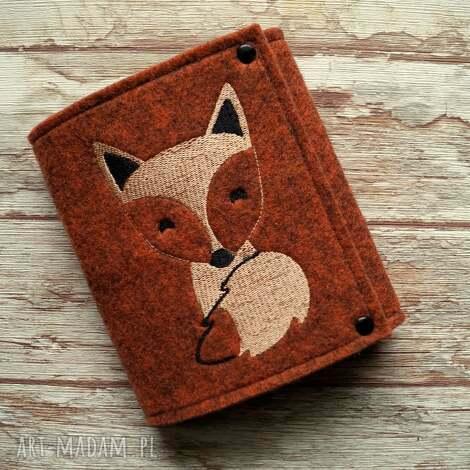 happyart filcowy portfelik z liskiem, portfel, portmonetka, lis, misie, prezent