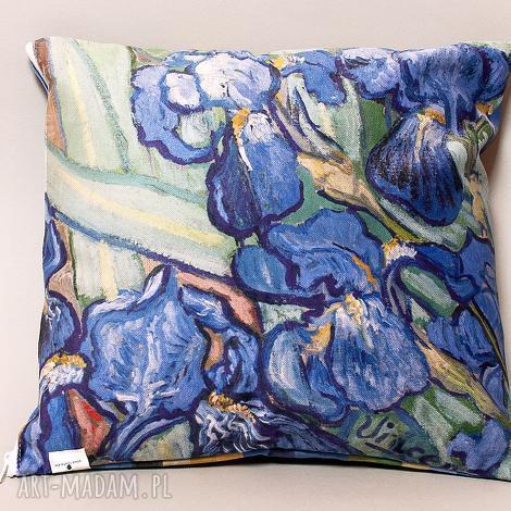 poszewka na mała poduszkę jasiek - van gogh, irysy, impresjonizm, sztuka