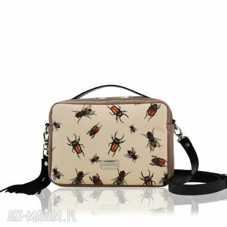 na ramię torebka hanza 1366, na-ramię, eko-skóra, new, pojemna, grafika, must-have
