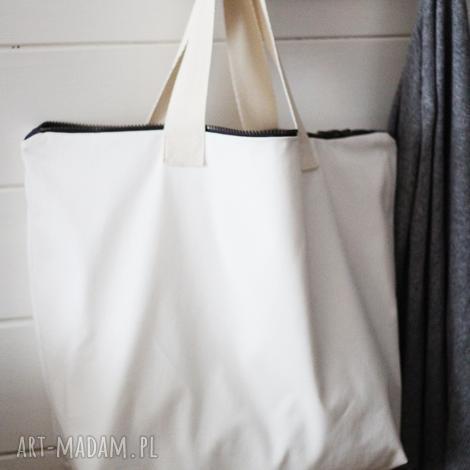 torba white, torba, torebka, bawełniana, letnia, plażowa, damska torebki