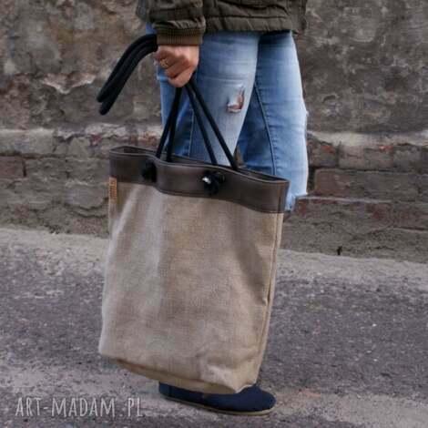 owal płótno, torba, vegan, torebka, eko, prezent na święta